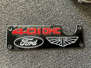 Tickford 4.0i OHC air intake box decal plate x 1 suit Ford EF series Falcon