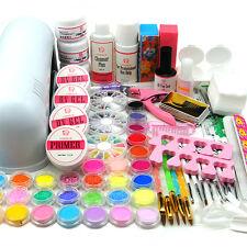 Coscelia 9W UV Gel Curing Lamp Dryer 30 Nail Art Acrylic Powder Liquid Salon Kit