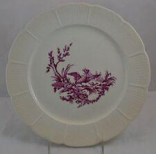"1800s Wedgwood Creamware Plate Dinner ""Mennecy"" Bird"