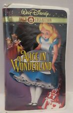 ALICE IN WONDERLAND~VHS, 2000~DISNEY GOLD CLASSIC COLLECTION~CLAMSHELL~1+ SHIP