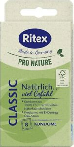Ritex PRO NATURE Classic (8 Kondome)