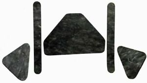 1962-1963 FORD FAIRLANE HOOD INSULATION KIT INCLUDES CLIPS