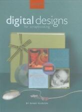 DIGITAL DESIGNS for SCRAPBOOKING by Renee Pearson (Softcover, Spiral, CD Disk)