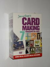 Joanna Sheen's Card Making. 7 Programmes On 4 Discs. 2006. Factory Sealed New.