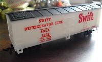 Vintage HO Scale Life Like Swift Refrigerator Line Boxcar
