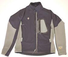 Mountain Hard Wear Nylon and Elastent Jacket mens size M black and gray hardwear