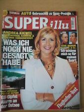 SUPER ILLU 23 - 31.5. 2007 Andrea Kiewel Täve Schur Evelyn Fischer Heidi Klum