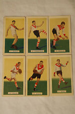 SOUTH MELBOURNE - 1934 Hoadleys Vintage Football Cards - Complete Set.