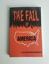 The Fall of America Elijah Muhammad 1973 Paperback Nation Of Islam History Noi