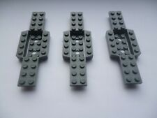 LEGO 3 GREY SPARE PARTs  CAR ,TRUCK BASE PLATES