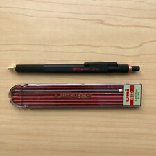 Rotring 800 2mm Black Mechanical Pencil Used