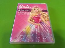 NEW! Barbie: 4-Movie Princess Collection - DVD