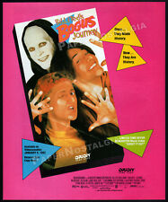 BILL & TED'S BOGUS JOURNEY__Original 1991 Trade AD promo__KEANU REEVES_PAM GRIER