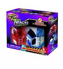 Mindscope Neon Glow Twister Tracks Neo Tracks LIGHT UP (5LED) VEHICLES Emergency