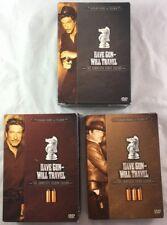 DVD Box Set Season 1 2 3 Have Gun Will Travel Western TV Richard Boone Paladin