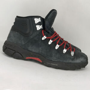 Nike Mens ACG Zoom Meriwether 536234-006 Black Suede Hiking Boots Size 11.5