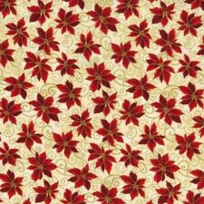 RJR Holiday Accents Classics 2014 by Yuko Hasegawa 1987 001 Cream Poinsettias