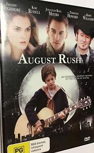 August Rush R4 DVD (2007 Keri Russell / Robin Williams music drama movie)VGC(98%