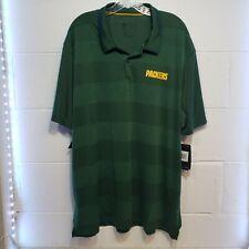 Nike Dry Men's Dri Fit Green Bay Packers Polo Shirt UV 40 Size Medium