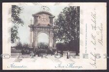 ALESSANDRIA CITTÀ 140 VEDUTINA Cartolina viaggiata (1901 ?)
