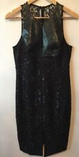 Stunning Like New Ginger And Smart Black Pencil Dress Size 12