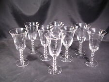Imperial Glass Ohio Candlewick #3400 Water Goblets Group of 8