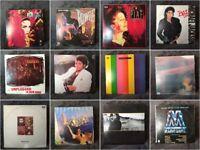 LP VINYL LENNOX BOWIE MICHAEL JACKSON NIRVANA PET SHOP BOYS U2  (RARE ECUADOR)