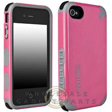 Apple iPhone 4/i4S PureGear DualTek Extreme Impact Case Pink Cover Shell Protect
