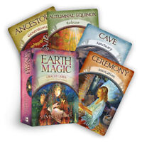 48-card Magic Oracle Cards Game Earth Magic Read Fate Tarot Deck Set Kit Card XM