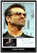 125. george michael signed photograph reprint great gift