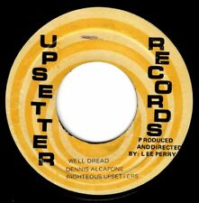 "DENNIS ALCAPONE-well dread    upsetter  7""    (hear)    reggae  lee perry"