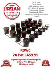 20L 24 Pot System 4 Lane For Grow Tent 3 x 3m Clonex DWC RDWC DWC Propagator IWS