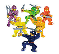 48 Ninja Warriors Martial Arts Fighter Cupcake Cake Topper Boys Toys PARTY FAVOR