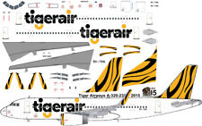 Tigerair Airbus A-320 decals for Revell 1/144 kit