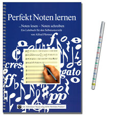 Perfekt Noten lernen - Lehrbuch von Alfred Pfortner - 21025 - 9783927547056