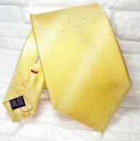 Cravatta jacquard con cuciture rosse 100% seta TOP Quality NUOVA made in Italy