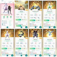 Pokémon Account Go Level 43 | 360 Shiny | 253 Legendary | 230, 4*(RARE)