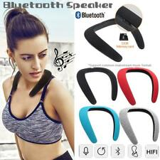 Soundgear portable Bluetooth Wireless Neckband Neck Speaker FM AUX SD USB Stereo