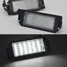 2x Bright white LED SMD License Plate lights for Hyundai Tiburon coupe SIII I20