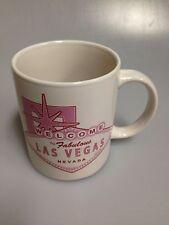 Welcome To Fabulous Las Vegas, Nevada, Ceramic 12 Oz Cofee Mug