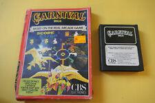 Jeu Atari 2600 - CARNIVAL - CBS Electronics