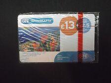 GREECE Painting/Ferentinou, OTE prepaid card 13 euro, tirage 15000, 02/10, mint