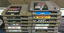 Nintendo Nes Game Cartridge Lot Of 13! Donkey Kong Tetris Paperboy & More Tested