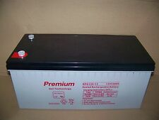 12V 220AH / 200AH GEL deep cyclel battery  for Solar, Campervan, Boat