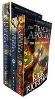 Trials of Apollo Series Rick Riordan 3 Books Collection Set Dark Prophecy NEW