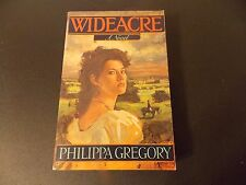 Philipa Gregory Wideacre~ARC 1987~True 1st Printing Her First Book