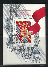 RUSSIA, USSR:1987 SC#5539 S/S used Leninist Young Communist League 20th Congress