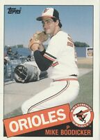 FREE SHIPPING-MINT-1985 Topps #16 Mike Boddicker Orioles -LARGE 5X7 CARD