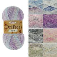 King Cole Merino Blend Knitting Yarn 4 Ply KC051-M per 50 gram ball
