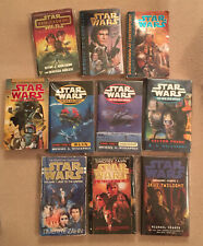 Star Wars Books Bulk Lot of 10 - all paperbacks